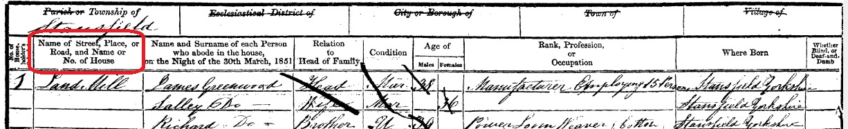 Census page sample